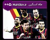 قالب وبلاگ تیم بارسلونا